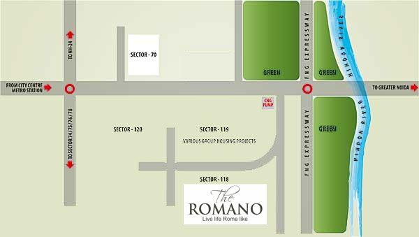 Supertech Romano location map