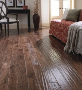 hand scraped hardwood flooring