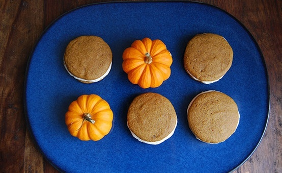 Pumpkin Whoopie Pies | Safeway  I just entered the @Safeway Pinterest sweeps for a chance to win a gift card!  #SafewayHoliday