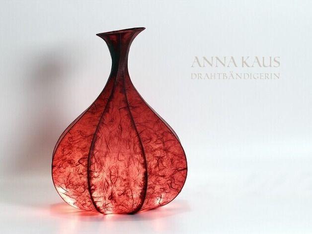 Inspirational Au ergew hnliche Lampen in bauchiger Form verbreitet angenehm warmes Licht cool lamp floral shape made