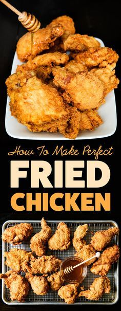 Here's A Mouthwatering Step-By-Step Guide To Making The Most Insanely Delicious Fried Chicken.❥Pinterest :: Danyellesibert