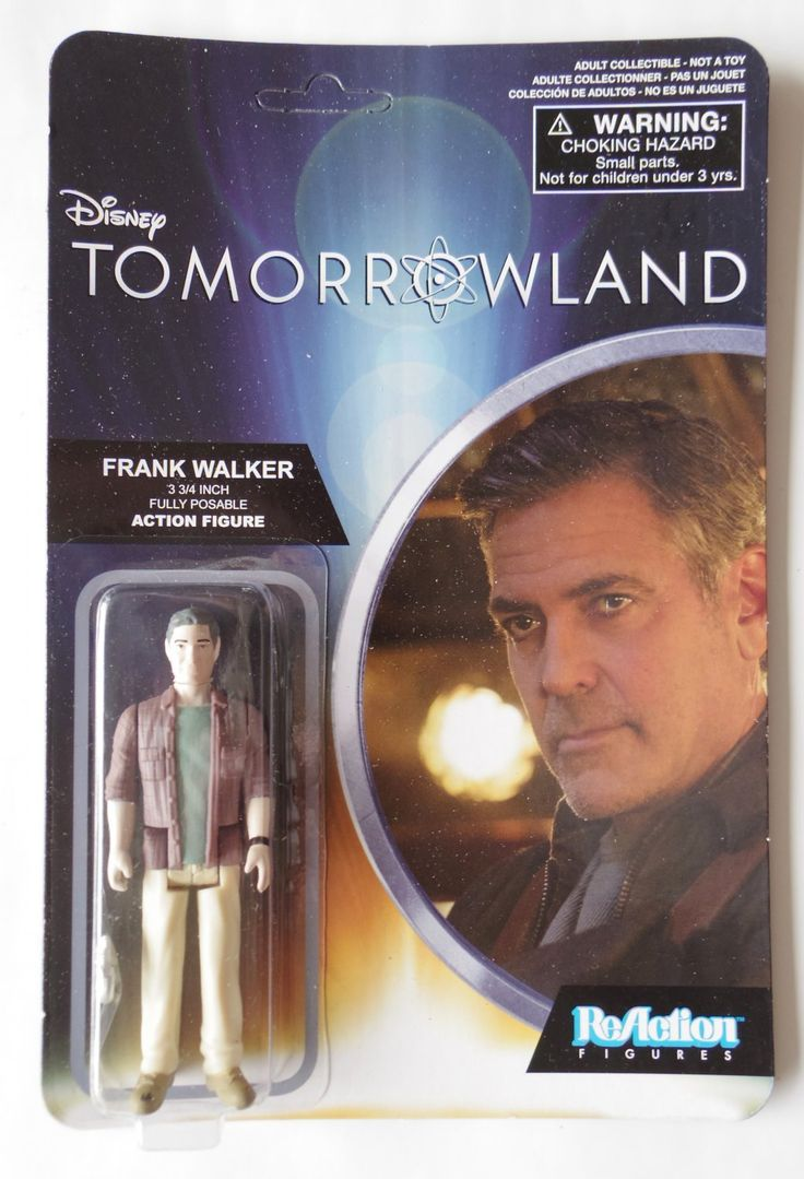 $8.99 free shipping Disney+Tomorrowland+Sifi+Movie+George+Clooney+Action+Figure