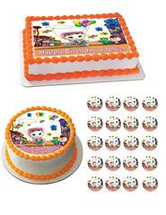 Sheriff Callie's Wild West Edible Cake OR CupcakeTopper – Edible Prints On Cake (EPoC)