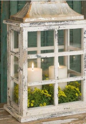 25 Great Ideas About Rustic Lanterns On Pinterest