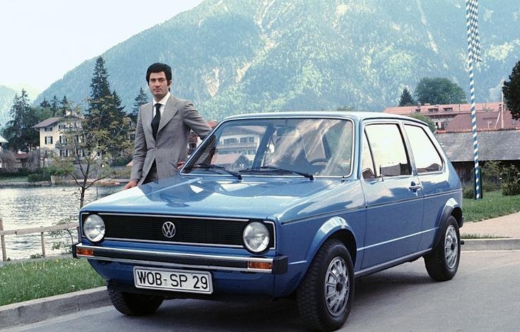 Volkswagen Golf MKI & Giorgetto Giugiaro