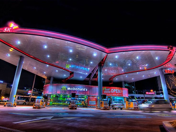 McDonald's Drive Thru – Ulsan, South Korea