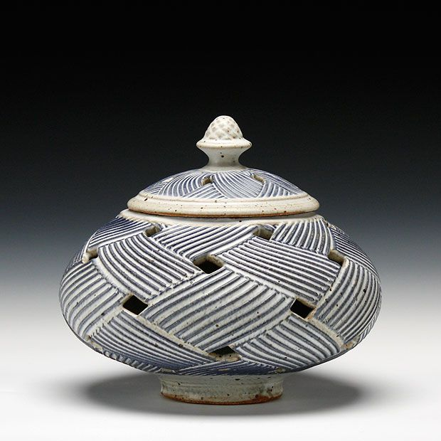 Schaller Gallery : Exhibition : Mark Williams : Perforated Jar