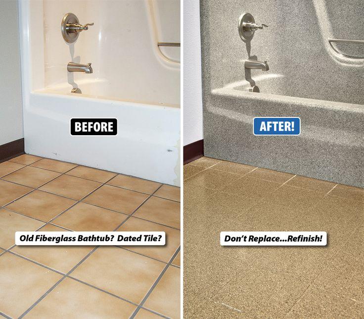 Refinish Bathroom Tile Extraordinary Design Review