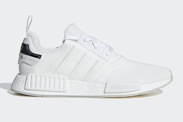adidas Add Moulded Stripes to a White NMD_R1 | Adidas white shoes ...