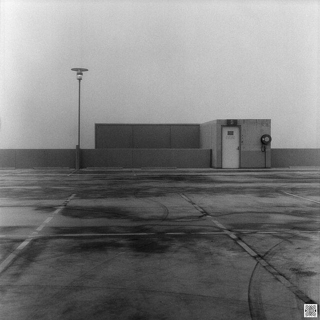Gungahlin. ACT, Australia, Flexaret VI, black and white film, photo by Pavel Vrzala