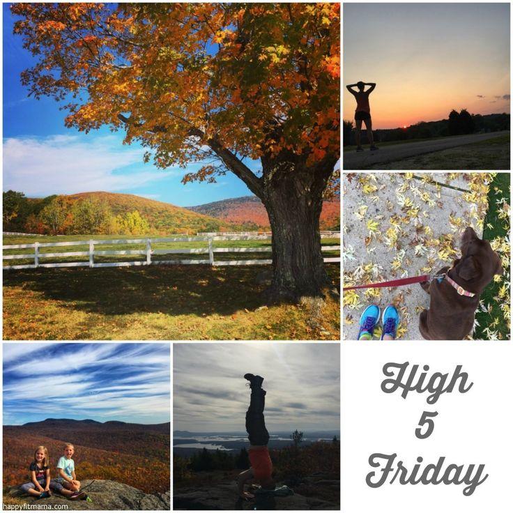 High Five Friday October 27 2017 happyfitmama.com