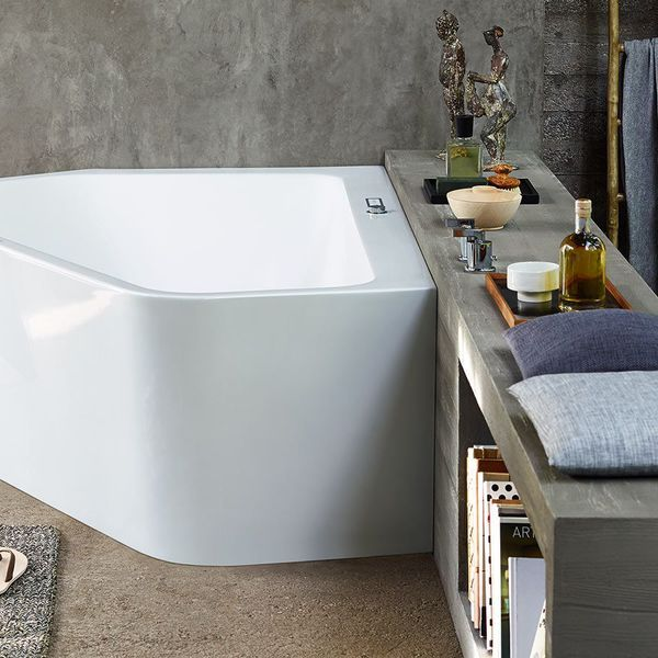 25 best ideas about baignoire sabot on pinterest salle de bains de chevron - Petite baignoire sabot ...