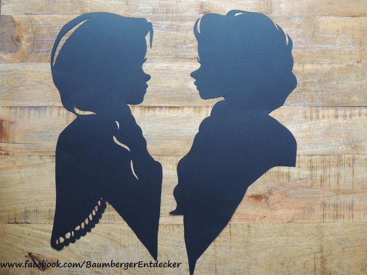 Anna & Elsa Fensterbilder  https://www.facebook.com/BaumbergerEntdecker