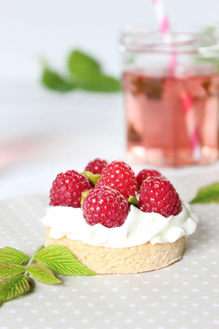 Tartelettes framboises pistaches - Juliette blog féminin
