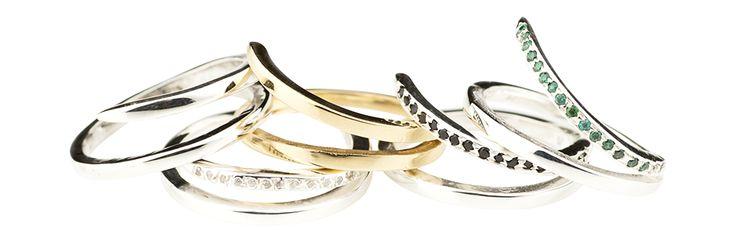 Silversmycken - Design Annica Vallin