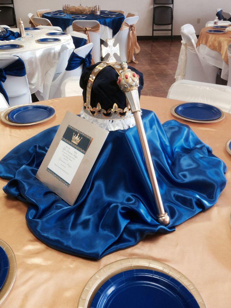 Royal baby shower olha esse centro de mesa @savanakariny