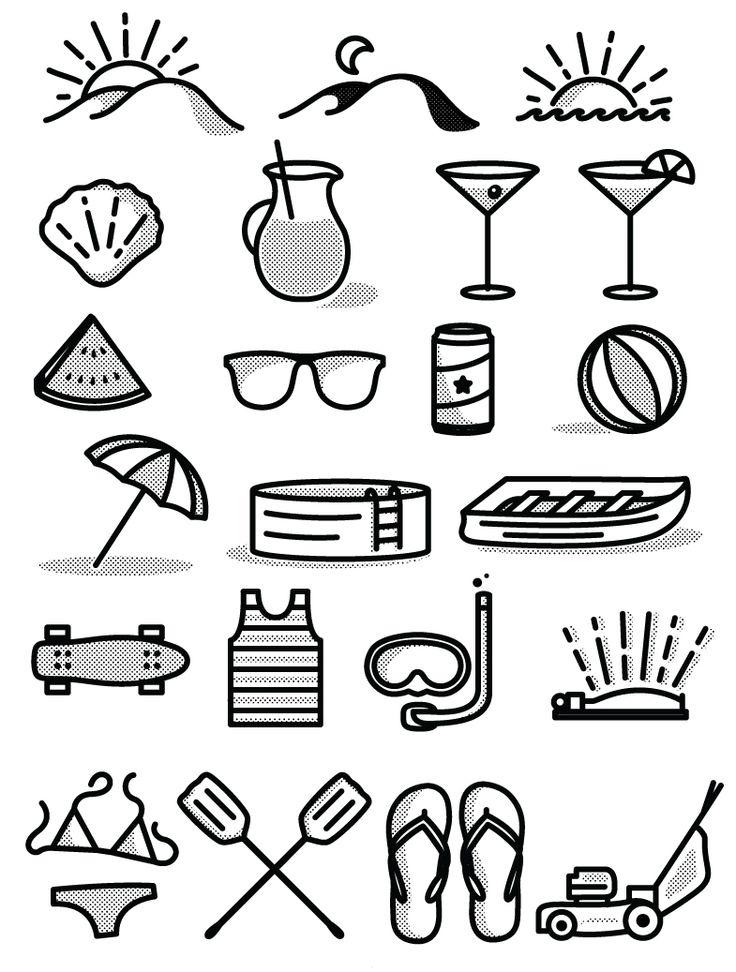 Icon Set (Free Download) on Behance