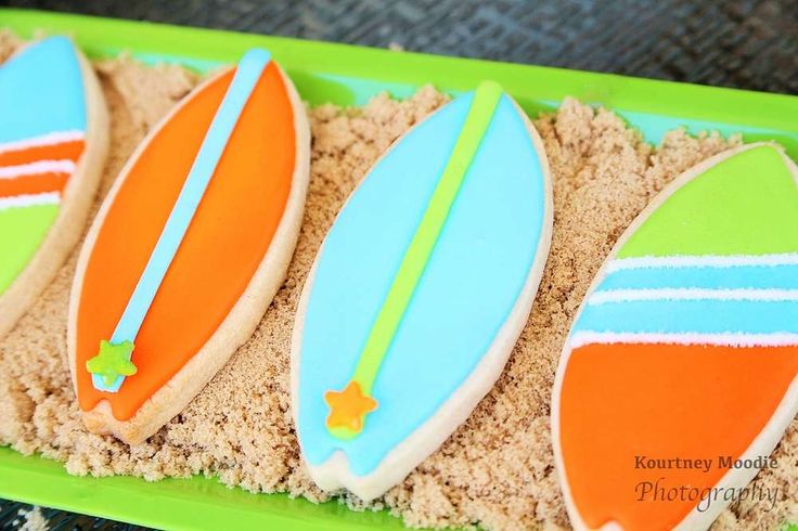 Surf's Up Birthday Party Ideas | Photo 25 of 62 | Catch My Party