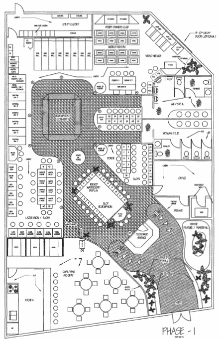 Game room design family entertainment center layout for Game room floor plans ideas
