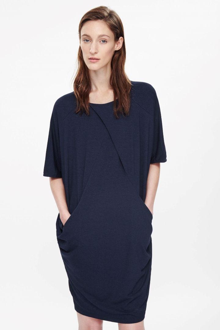 COS   Oversized jersey dress
