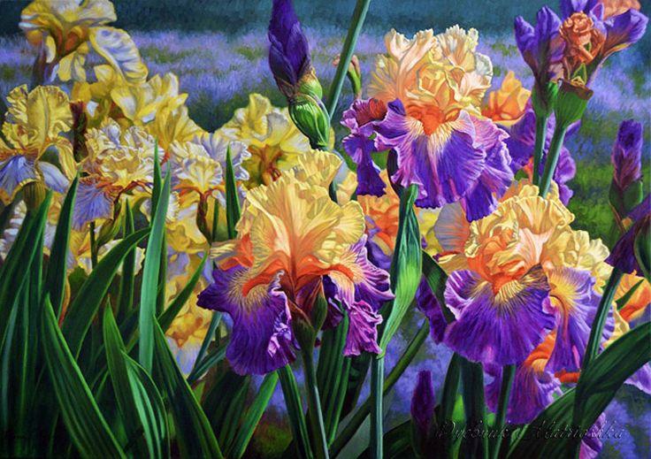 Minden virág - a természet tökéletességét. A művész Fiona Craig .. Vita LiveInternet - orosz Service Online Diaries