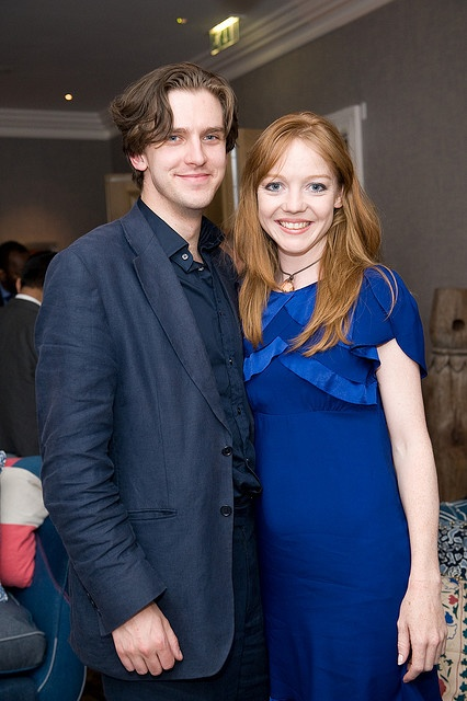 This is Dan Stevens' wife! They have a kid named Willow! I am always curious about these things.