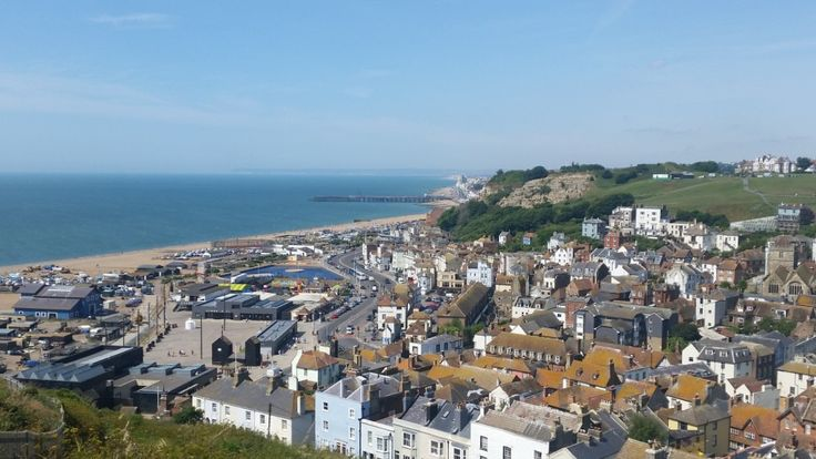 Hastings to Winchelsea hike: 10 miles clifftop coastal hike and beach