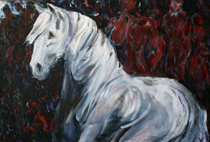 Kate Esplen - Horse Art and Jewellery - The Prophet