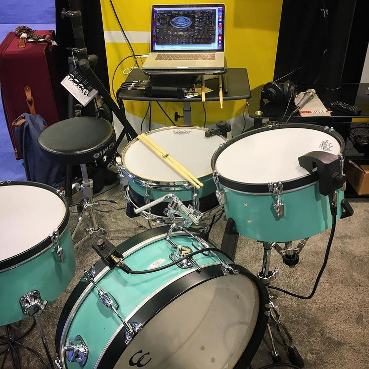 @sunhouseinc Sensory Percussion system for electronic drumming based on natural playing techniques. #namm2016 #drums