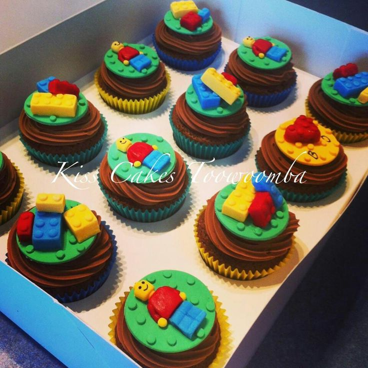 Best 25 Lego Cupcakes Ideas On Pinterest Lego Birthday