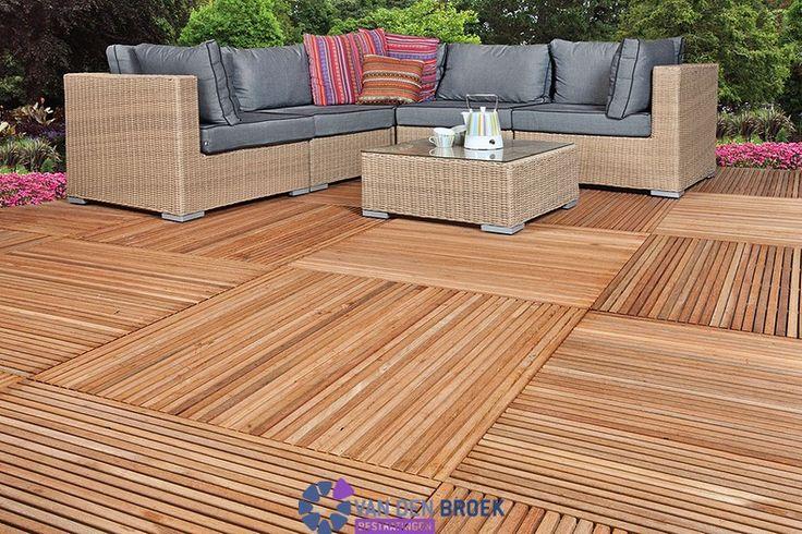 17 beste idee n over hardhouten tegel op pinterest houtnerf tegel houten tegels en houten - Dek een terras met tegels ...