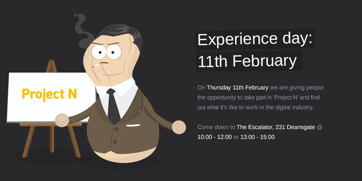 Digital Agency Manchester - Nuttersons are giving people the opportunity to find out what it's like to work in the digital industry. 'Project N' will take place on the 11th of February!