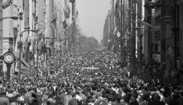First Earth Day 4/22/70. Earth Day: The History of A Movement | Earth Day Network
