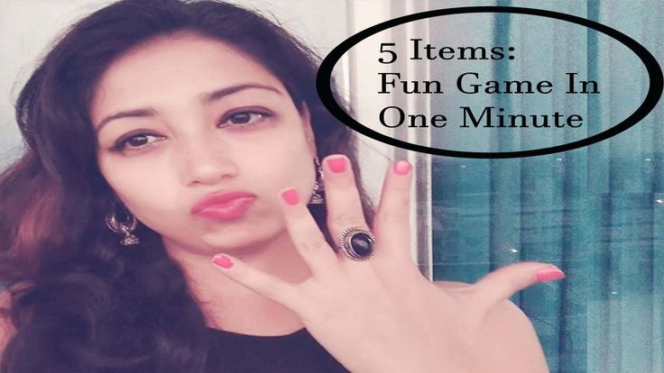 Fun kitty party game for Ladies: 5 Items