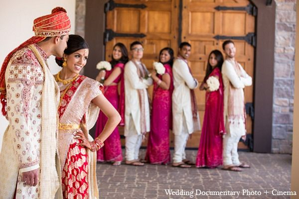 Indian Wedding Bride Groom Bridal Party Http