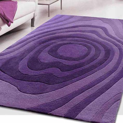 signature karma rug purple