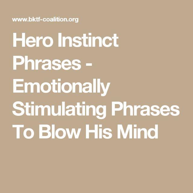 hero instinct phrases