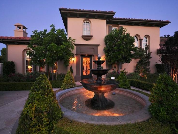 Italian style villa in calabasas california for Beautiful homes com