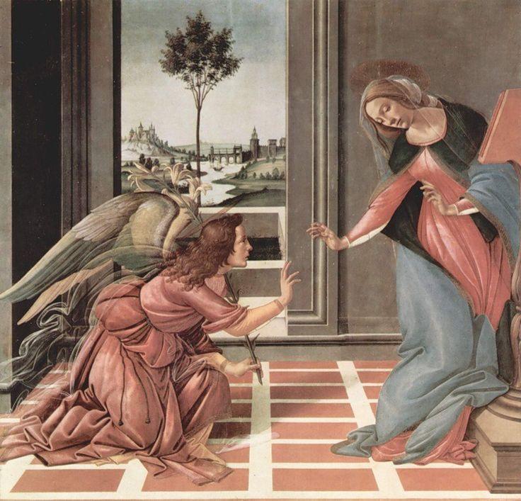 http://www.liveinternet.ru/users/irleo/post412887002/ «Благовещение». Сандро Боттичелли. 1489—1490
