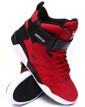 Love this Bleeker Red/Black Leather Sneakers on DrJays and only for $NaN. Take a look and get 20% off your next order!