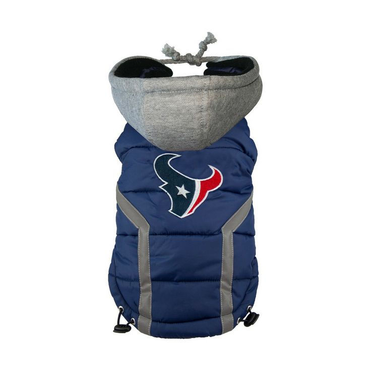 Now available at our store: NFL Team Puffer V.... Check out here:  http://water-lemon.myshopify.com/products/nfl-team-puffer-vest-houston-texans-size-3xl?utm_campaign=social_autopilot&utm_source=pin&utm_medium=pin