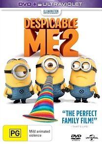 Despicable Me 2 (DVD/Ultraviolet) DVD