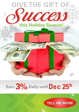 Give the gift of SUCCESS this Holiday Season!
