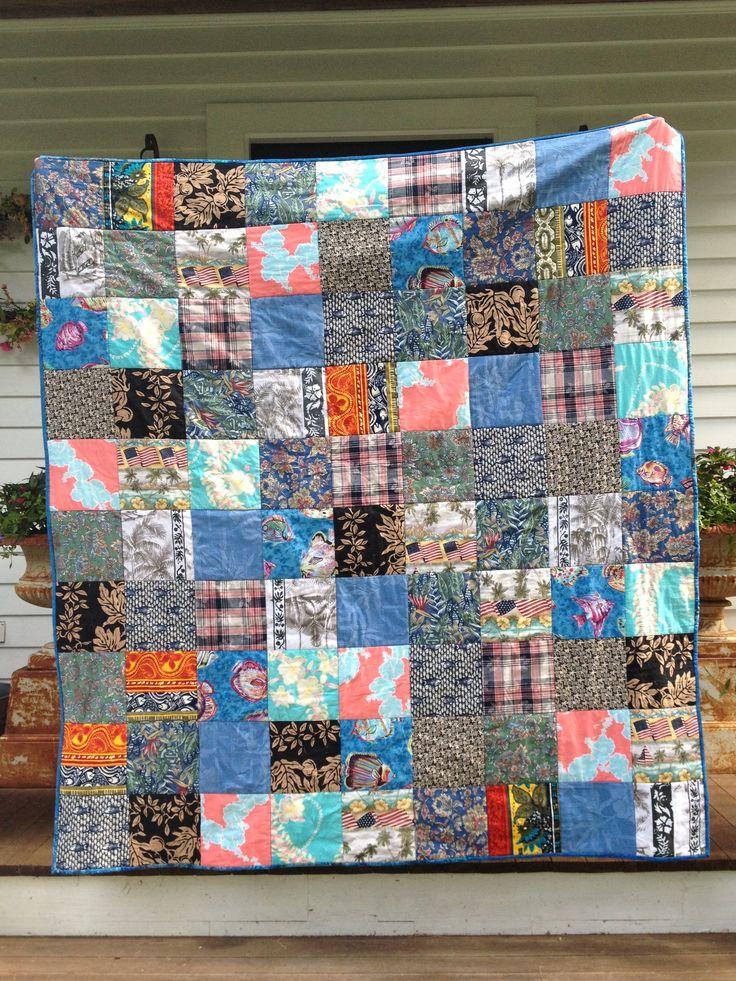 9 bästa bilderna om Hawaiian T-Shirt Quilt på Pinterest ... : hawaiian shirt quilt pattern - Adamdwight.com