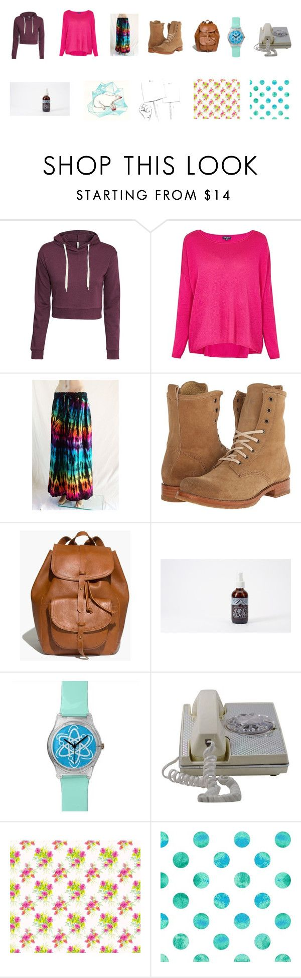 """""""Jessica (Jess) Alice Miller"""" by sarah-blevins on Polyvore featuring H&M, Splendid, Frye, Madewell, Polar and hippie"""