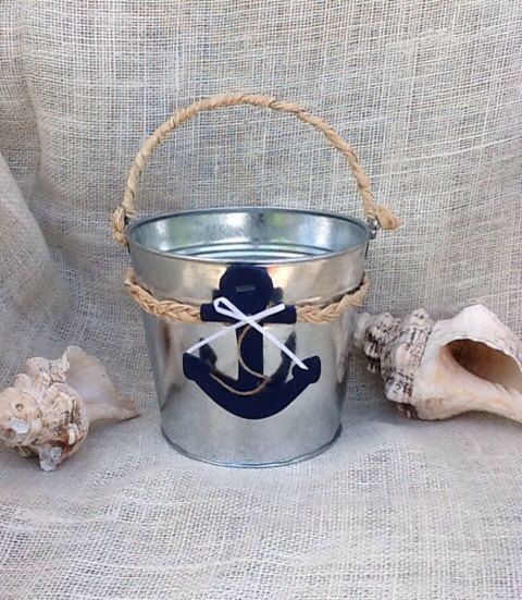 Flower Girl Basket Nautical  Wedding Beach by WeddingFavorsandMore, $32.00