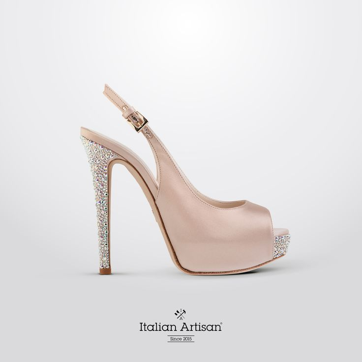 #unique and fashion #bridal shoes!  Available exclusively at www.italian-artisan.com   Only #italianstyle #handcrafted #luxuryshoes #womanshoes #bespokeshoes #weddingshoes #madeinitaly #italianartisan