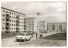 alte AK Schwedt ( Oder ) - Justus von Liebig Straße ca.1970