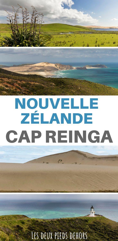 Vous partez en voyage en Nouvelle-Zélande ? Venez découvrir le superbe Cap Reinga, à l'extrême Nord de l'île du Nord de la Nouvelle-Zélande. Entre plage grandiose, dune de sable, randonnée, impossible de s'ennuyer ! #oceanie #océanie #nouvellezélande #nouvellezelande #capreinga