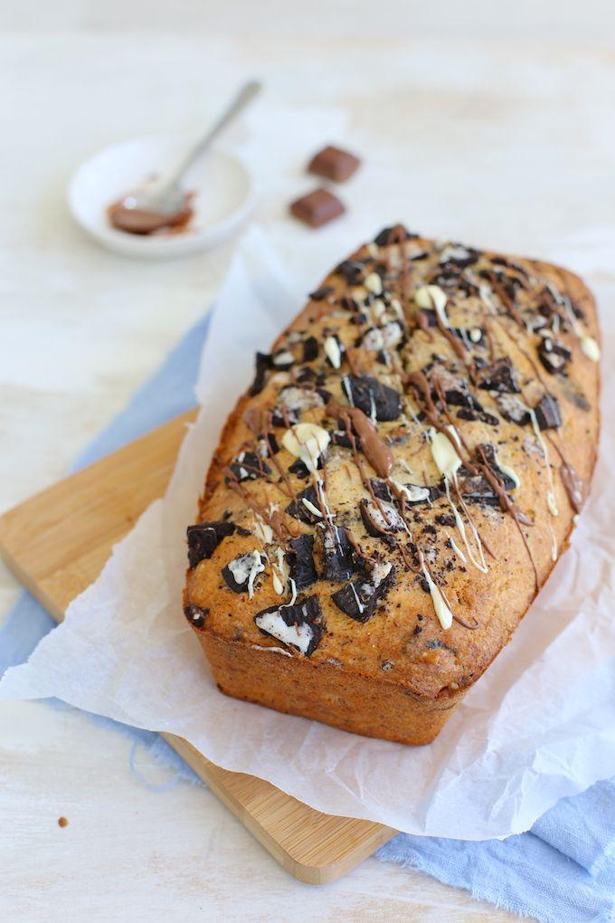 Oreo-bananenbrood